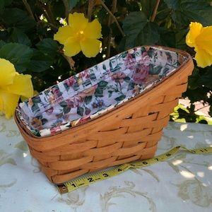 Longaberger Angled Basket